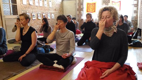 06 oct | Atelier initiation au Pranayama avec Neda