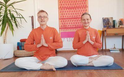 Cours de yoga en ligne et nouveau fonctionnement