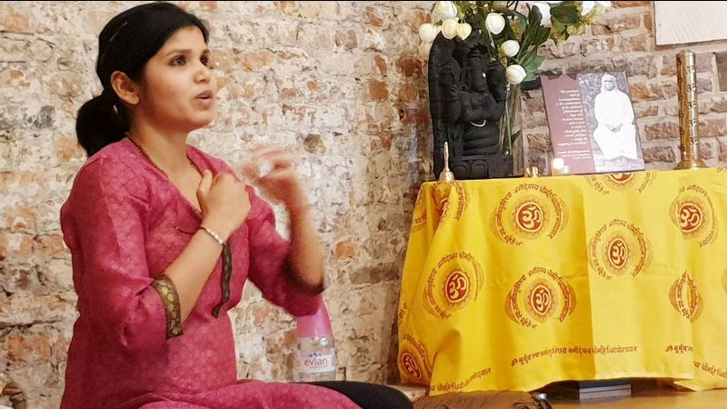 sept 2021 Atelier Yoga avec Jyoti Soni